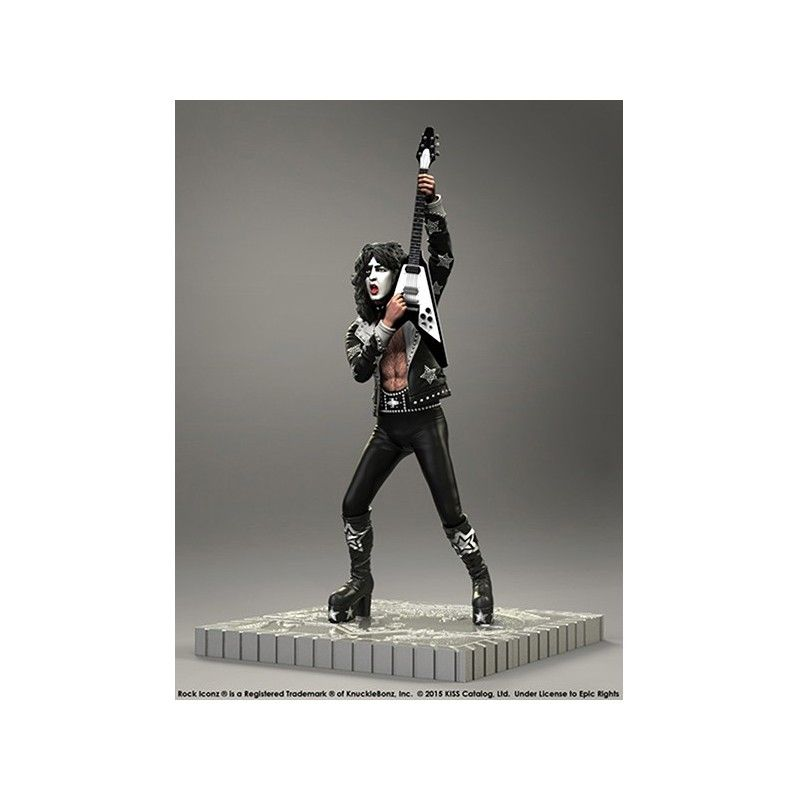 ROCK ICONZ - KISS SET 4 FIGURES 20CM STATUE FIGURE KNUCKLEBONZ