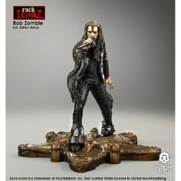 KNUCKLEBONZ ROCK ICONZ - ROB ZOMBIE 20CM STATUE FIGURE