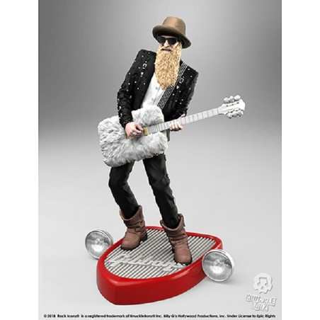 ROCK ICONZ - BILLY GIBBONS 20CM STATUE FIGURE