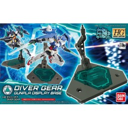 HIGH GRADE HGBC DIVER GEAR GUNPLA DISPLAY BASE 1/144 MODEL KIT