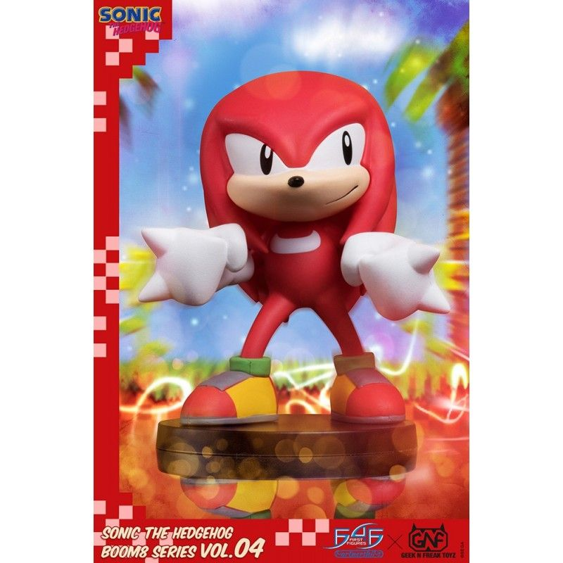 SONIC THE HEDGEHOG KNUCKLES BOOM8 SERIES VOL.04 STATUE FIGURE FIRST4FIGURES