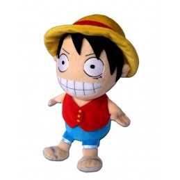 PUPAZZO PELUCHE ONE PIECE - LUFFY 32CM PLUSH