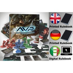 AVP THE HUNT BEGINS 2ND EDITION GIOCO DA TAVOLO ENGLISH GERMAN ITALIANO