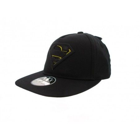 CAPPELLO BASEBALL CAP SUPERMAN LOGO NERO