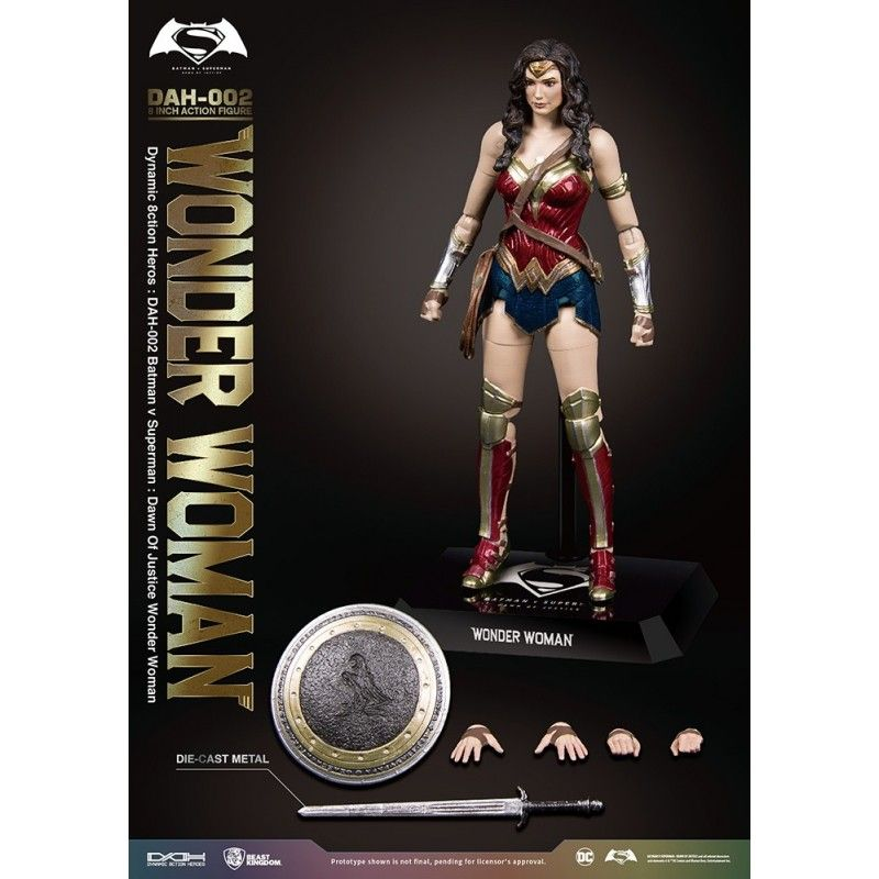 BATMAN V SUPERMAN - WONDER WOMAN DAH-002 8 INCH ACTION FIGURE BEAST KINGDOM