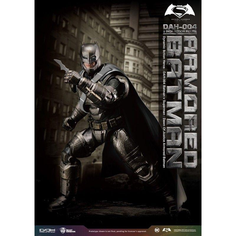 BATMAN V SUPERMAN - ARMORED BATMAN DAH-003 8 INCH ACTION FIGURE BEAST KINGDOM