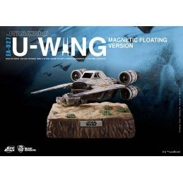 BEAST KINGDOM STAR WARS ROGUE ONE - U-WING MAGNETIC FLOATING VERSION 20CM FIGURE