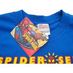MAGLIA T SHIRT MARVEL SPIDERMAN SPIDER SENSE BLU ROYAL