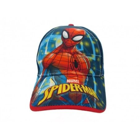 CAPPELLO BASEBALL CAP MARVEL SPIDERMAN BLU NAVY