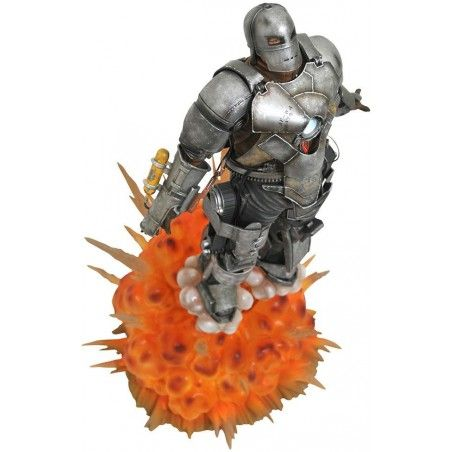 MARVEL MILESTONES - IRON MAN MK1 10TH ANN MOVIE 35CM STATUE RESIN FIGURE