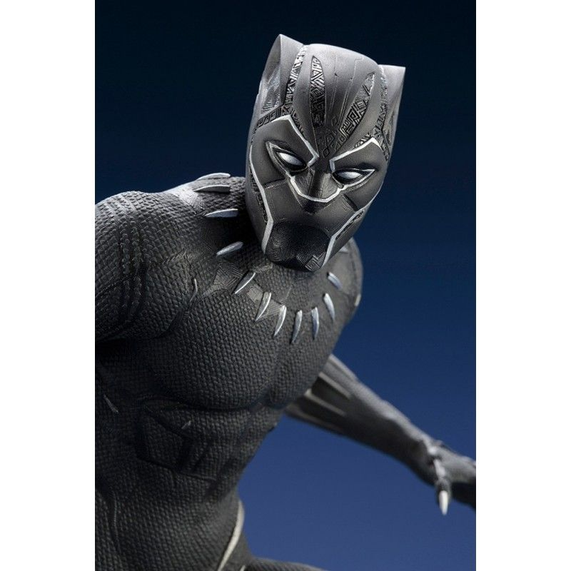 BLACK PANTHER MOVIE - PANTERA NERA ARTFX STATUE 32 CM FIGURE KOTOBUKIYA