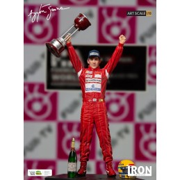 AYRTON SENNA 1988 JAPAN GP ART SCALE 1/10 STATUE FIGURE