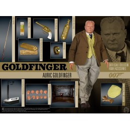 007 GOLDFINGER AURIC SIXTH SCALE COLLECTOR ACTION FIGURE 30CM