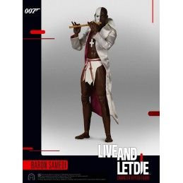007  LIVE AND LET DIE BARON SAMEDI SIXTH SCALE ACTION FIGURE 30CM