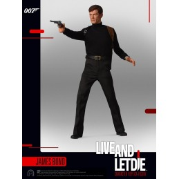 007  LIVE AND LET DIE JAMES BOND ROGER MOORE SIXTH SCALE ACTION FIGURE 30CM