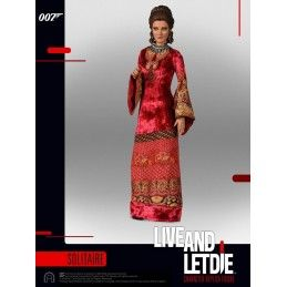 007  LIVE AND LET DIE SOLITAIRE SIXTH SCALE ACTION FIGURE 30CM