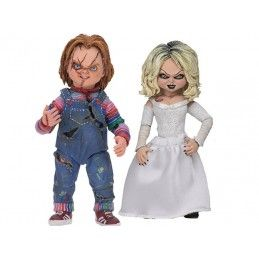 ULTIMATE CHUCKY - CHUCKY AND TIFFANY 2-PACK 10 CM ACTION FIGURE