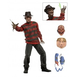 A NIGHTMARE ON ELM STREET - 30TH ANNIVERSARY FREDDY KRUEGER ACTION FIGURE NECA