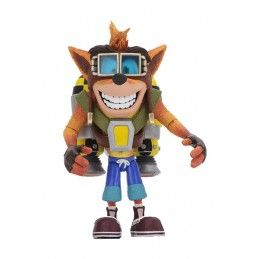 CRASH BANDICOOT - CRASH JET PACK DELUXE ACTION FIGURE NECA