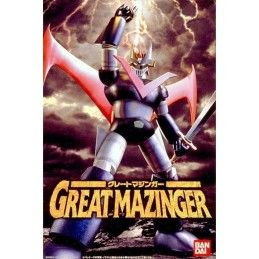GREAT MAZINGER MODEL KIT 13 CM ACTION FIGURE BANDAI