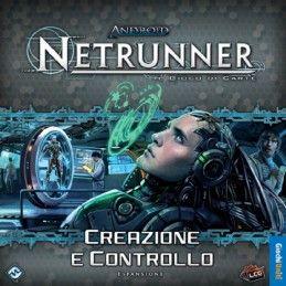 ANDROID NETRUNNER CREAZIONE E CONTROLLO - GIOCO DA TAVOLO ITALIANO GIOCHI UNITI