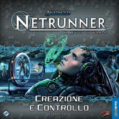 ANDROID NETRUNNER CREAZIONE E CONTROLLO - GIOCO DA TAVOLO ITALIANO