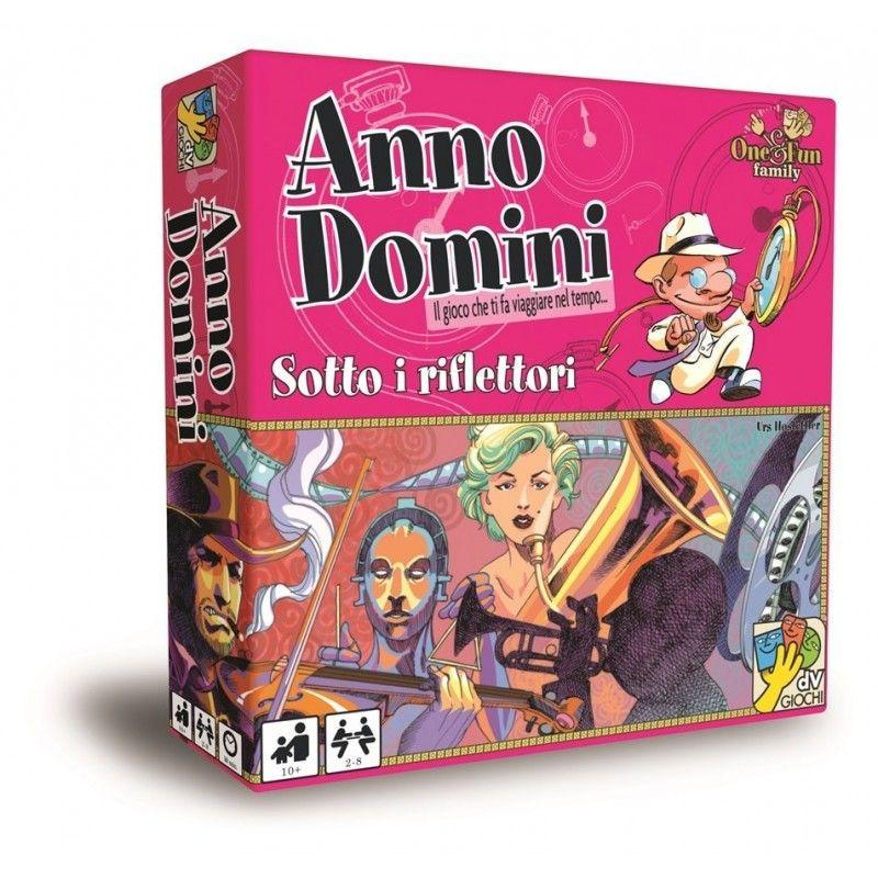 ANNO DOMINI SOTTO I RIFLETTORI - GIOCO DA TAVOLO ITALIANO