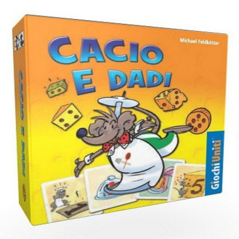 CACIO E DADI - GIOCO DA TAVOLO ITALIANO