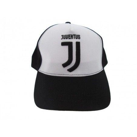 CAPPELLO BASEBALL CAP F.C. JUVENTUS UFFICIALE BIANCO NERO