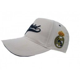 CAPPELLO BASEBALL CAP REAL MADRID UFFICIALE BIANCO