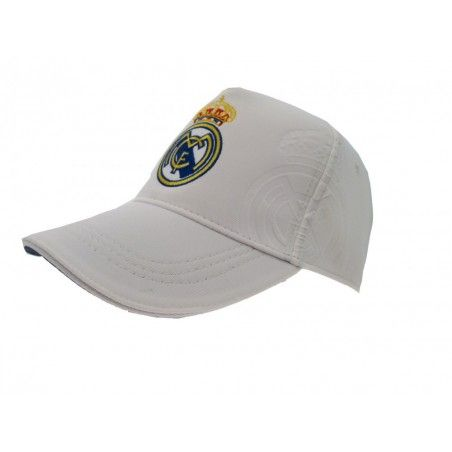 CAPPELLO BASEBALL CAP REAL MADRID UFFICIALE CLASSICO BIANCO