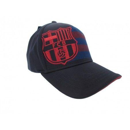 CAPPELLO BASEBALL CAP FC BARCELLONA UFFICIALE STEMMA LATO
