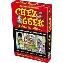 CHEZ GEEK - BISBOCCIA EDITION - GIOCO DA TAVOLO ITALIANO