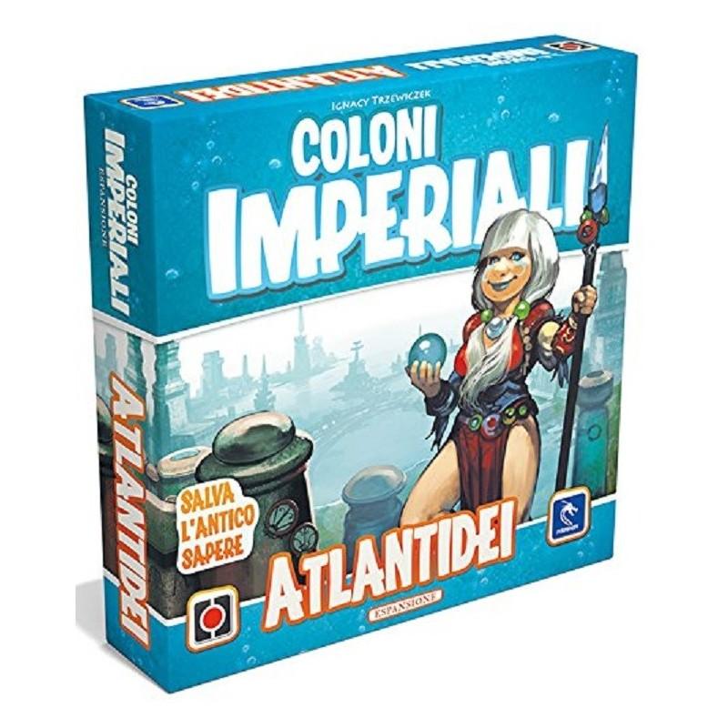 COLONI IMPERIALI: ATLANTIDEI ESP. - GIOCO DA TAVOLO ITALIANO