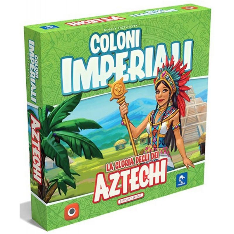 COLONI IMPERIALI: AZTECHI ESP. - GIOCO DA TAVOLO ITALIANO