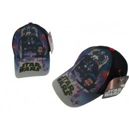 CAPPELLO BASEBALL CAP STAR WARS CARTOON DARTH VADER TESTA