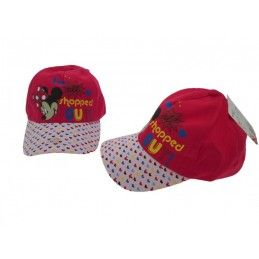 CAPPELLO BASEBALL CAP DISNEY MINNIE FANTASIA FUCSIA