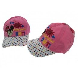 CAPPELLO BASEBALL CAP DISNEY MINNIE FANTASIA ROSA