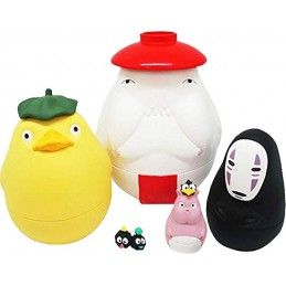 BENELIC SPIRITED AWAY MATRYOSHKA DOLLS STUDIO GHIBLI