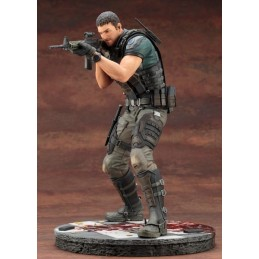 RESIDENT EVIL VENDETTA CHRIS REDFIELD ARTFX STATUE 29 CM FIGURE
