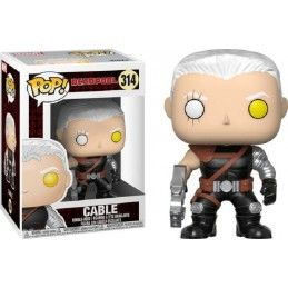 FUNKO POP! DEADPOOL - CABLE BOBBLE HEAD KNOCKER FIGURE