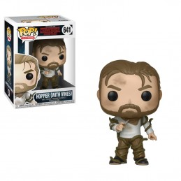 FUNKO POP! STRANGER THINGS HOPPER WITH VINES BOBBLE HEAD KNOCKER FIGURE