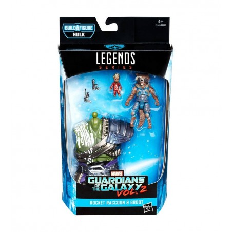 MARVEL LEGENDS SERIES GLADIATOR HULK - ROCKET RACCOON AND GROOT ACTION FIGURE