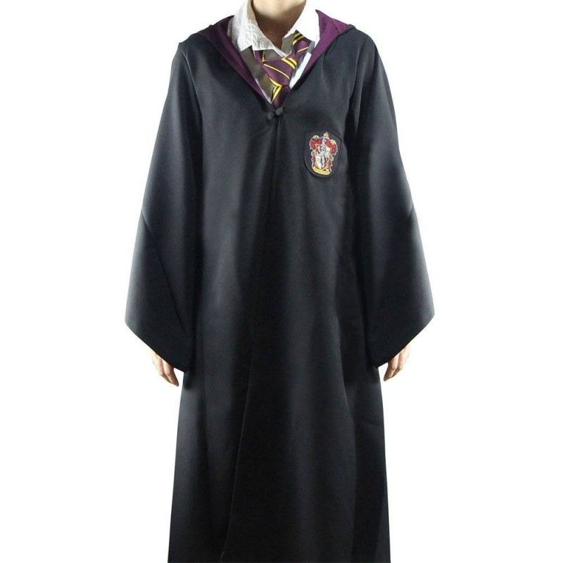 HARRY POTTER WIZARD ROBE TUNICA MAGO GRIFFONDORO TAGLIA L CINEREPLICAS