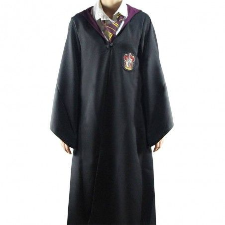 HARRY POTTER WIZARD ROBE TUNICA MAGO GRIFFONDORO TAGLIA L