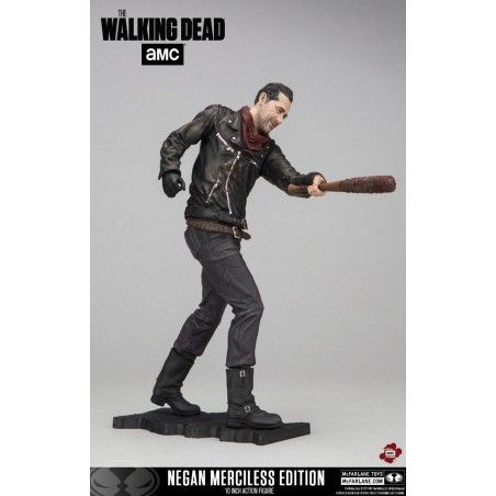 THE WALKING DEAD MERCILESS NEGAN 25CM DELUXE ACTION FIGURE