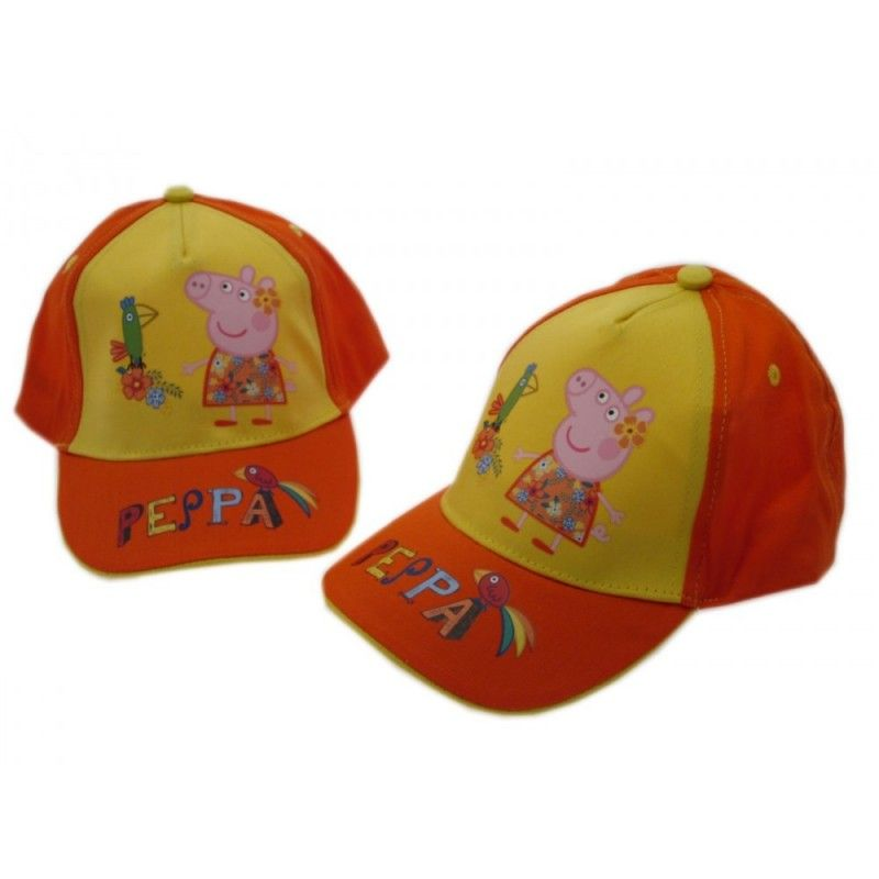 CAPPELLO BASEBALL CAP PEPPA PIG E PAPPAGALLO