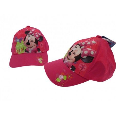 CAPPELLO BASEBALL CAP DISNEY MINNIE SMILE FUCSIA