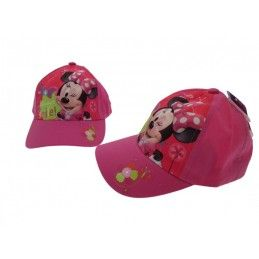 CAPPELLO BASEBALL CAP DISNEY MINNIE SMILE ROSA