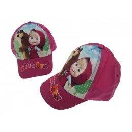 CAPPELLO BASEBALL CAP MASHA E ORSO MASHA AND THE BEAR FUCSIA